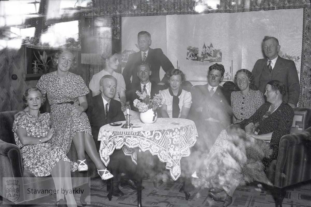 Familebilde av familien Paulsen