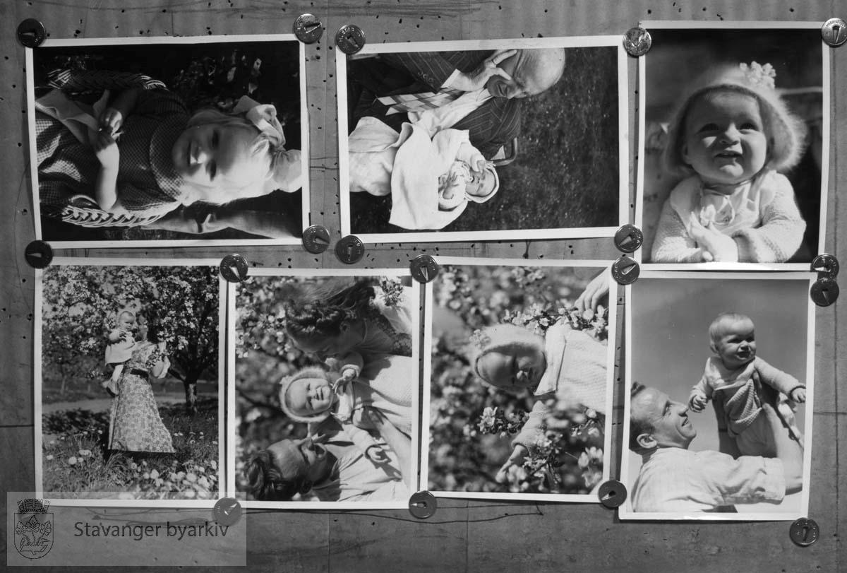 Avfotograferte barnebilder.