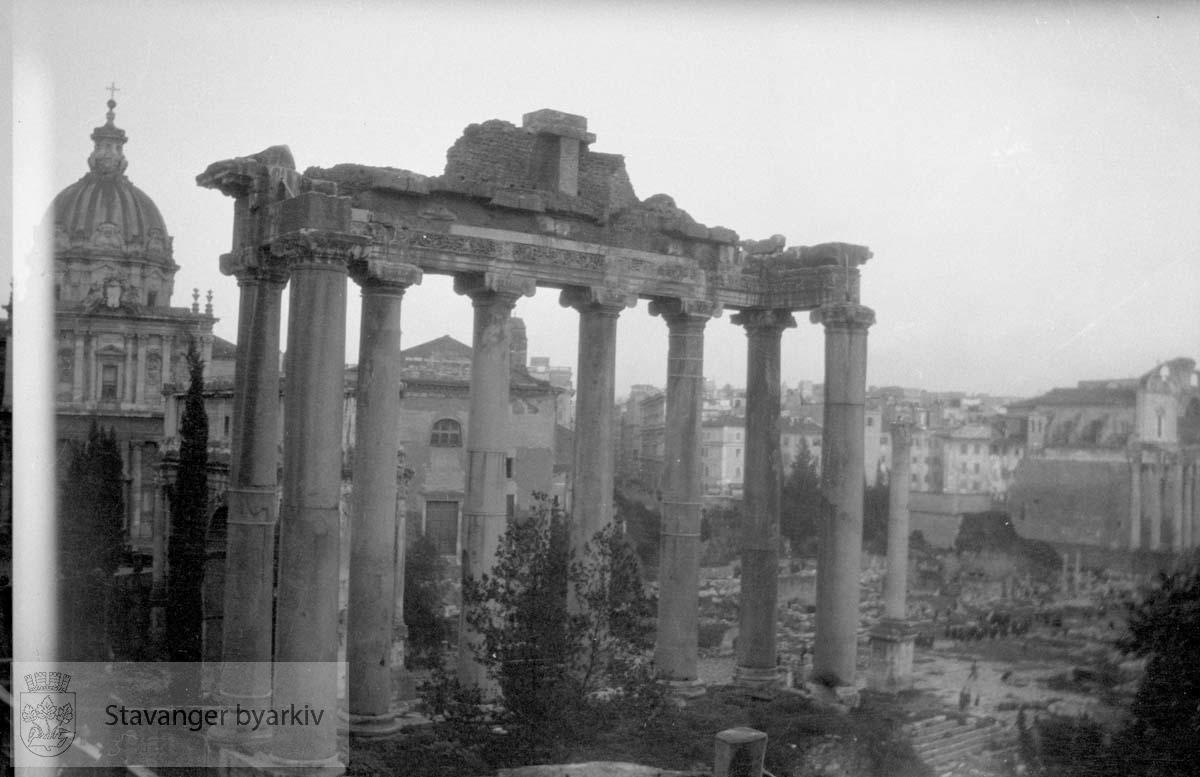 Forum Romanum i Roma.