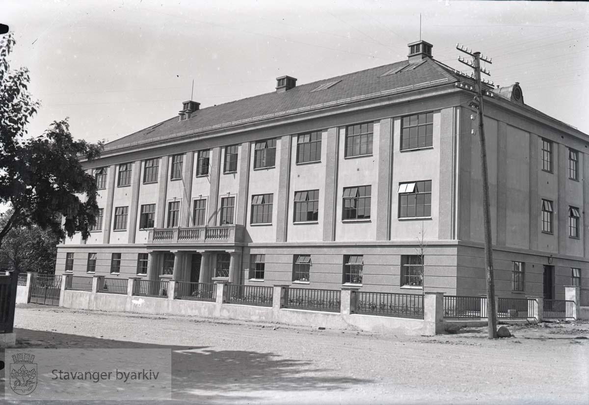 Hermetikklaboratoriets bygning.