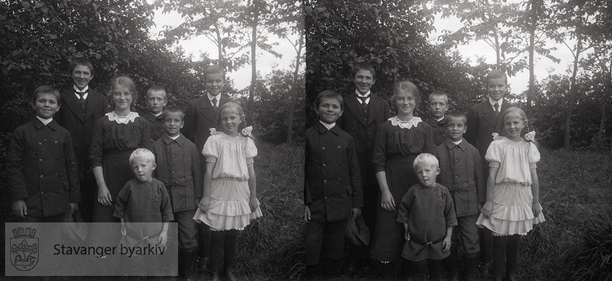 Bildet er tatt ca i 1915...Stereofotografi.