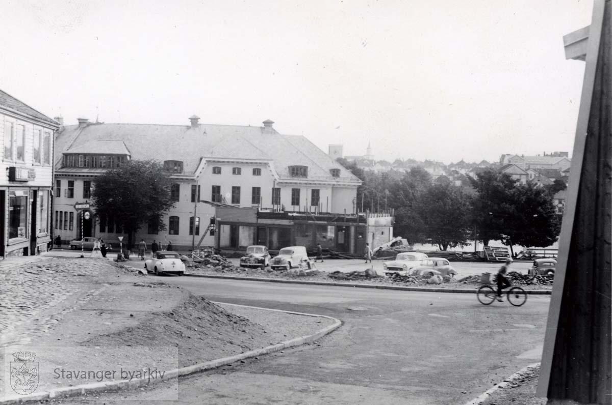 Det gamle posthuset sett fra Kleiva