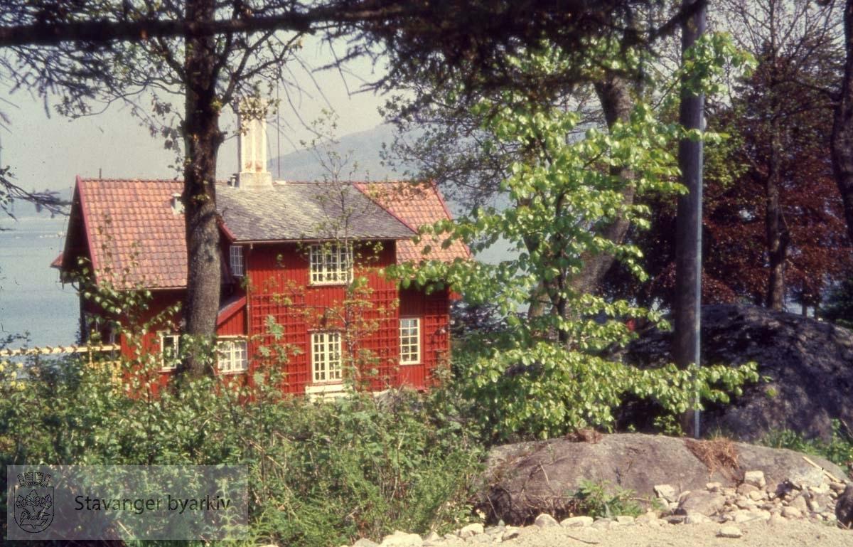 Huset til redaktør Per Thomsen i Stavanger Aftenblad.
