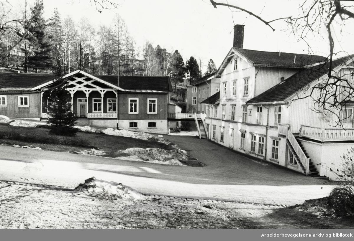 Grefsen sanatorium og sykehjem. Desember 1970