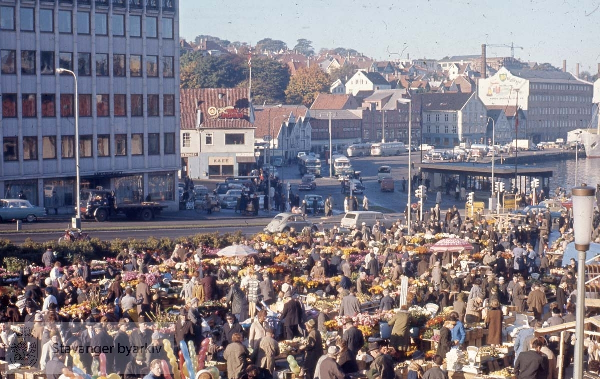 Stavanger sentrum.Torghandel