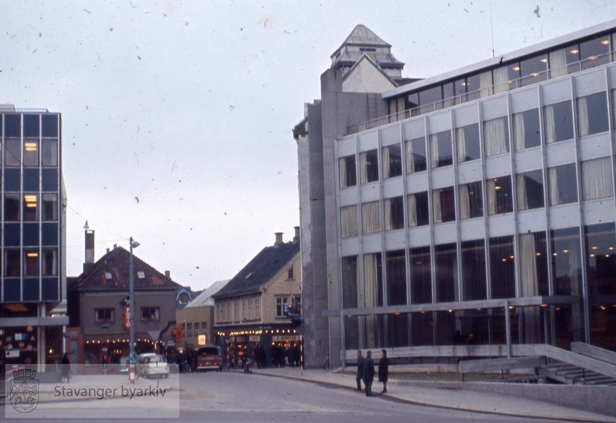 Norges bank-bygget mot Laugmannsgata