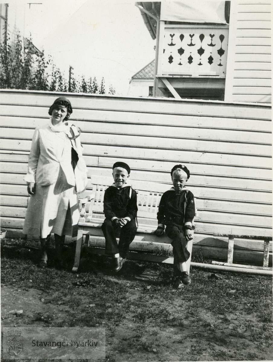 Ellinor, Jan Christian og Per Iversen