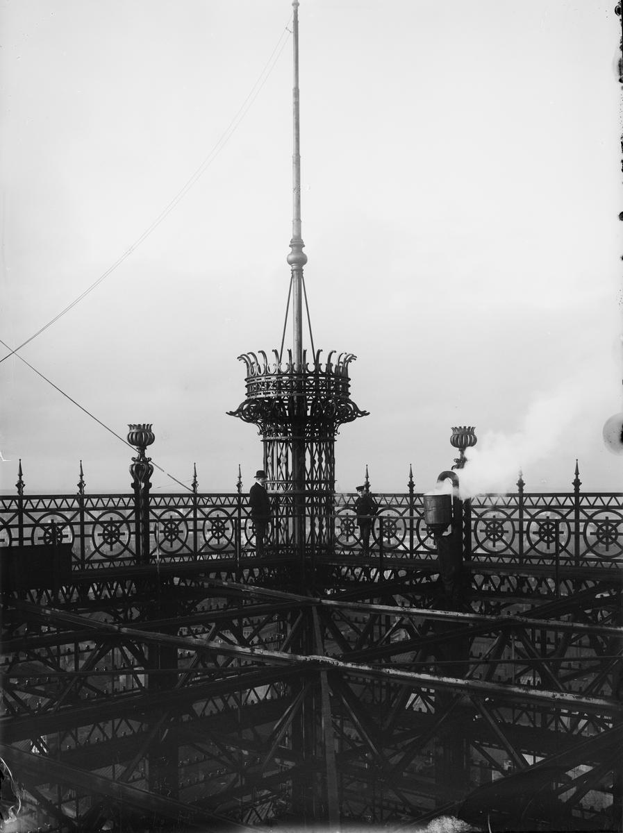Telefontornet. Tornkrön.