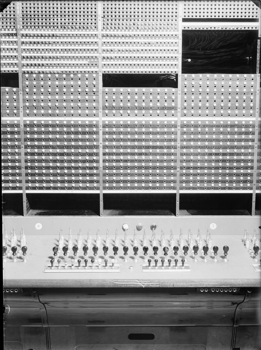 Telefonstationen CB Norr, Jakobsbergsgatan 22-24 C.B. Norr år 1934. Expeditionsbord.