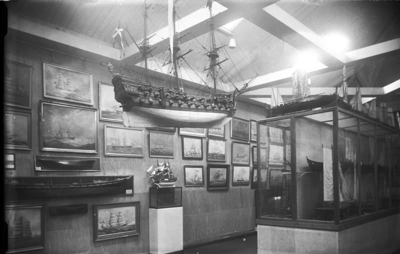 Norsk Sjøfartsmuseums utstilling i Ridehuset. (Foto/Photo)