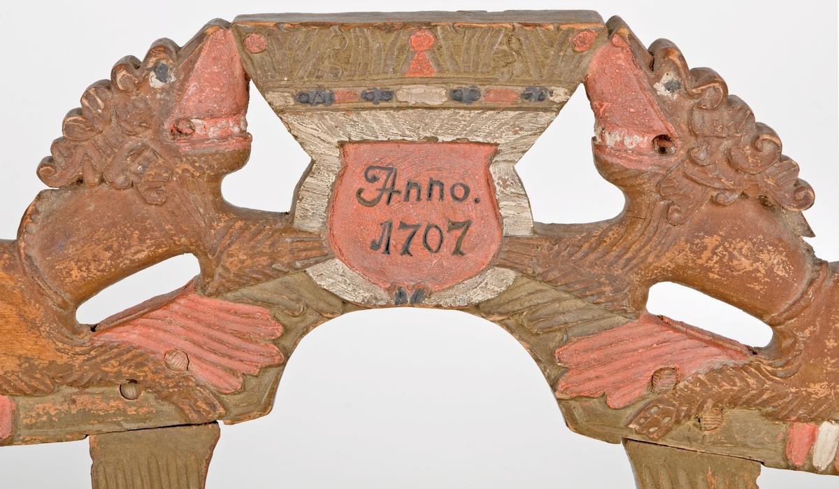 Selbåge, selkrok från Valbo från 1707.