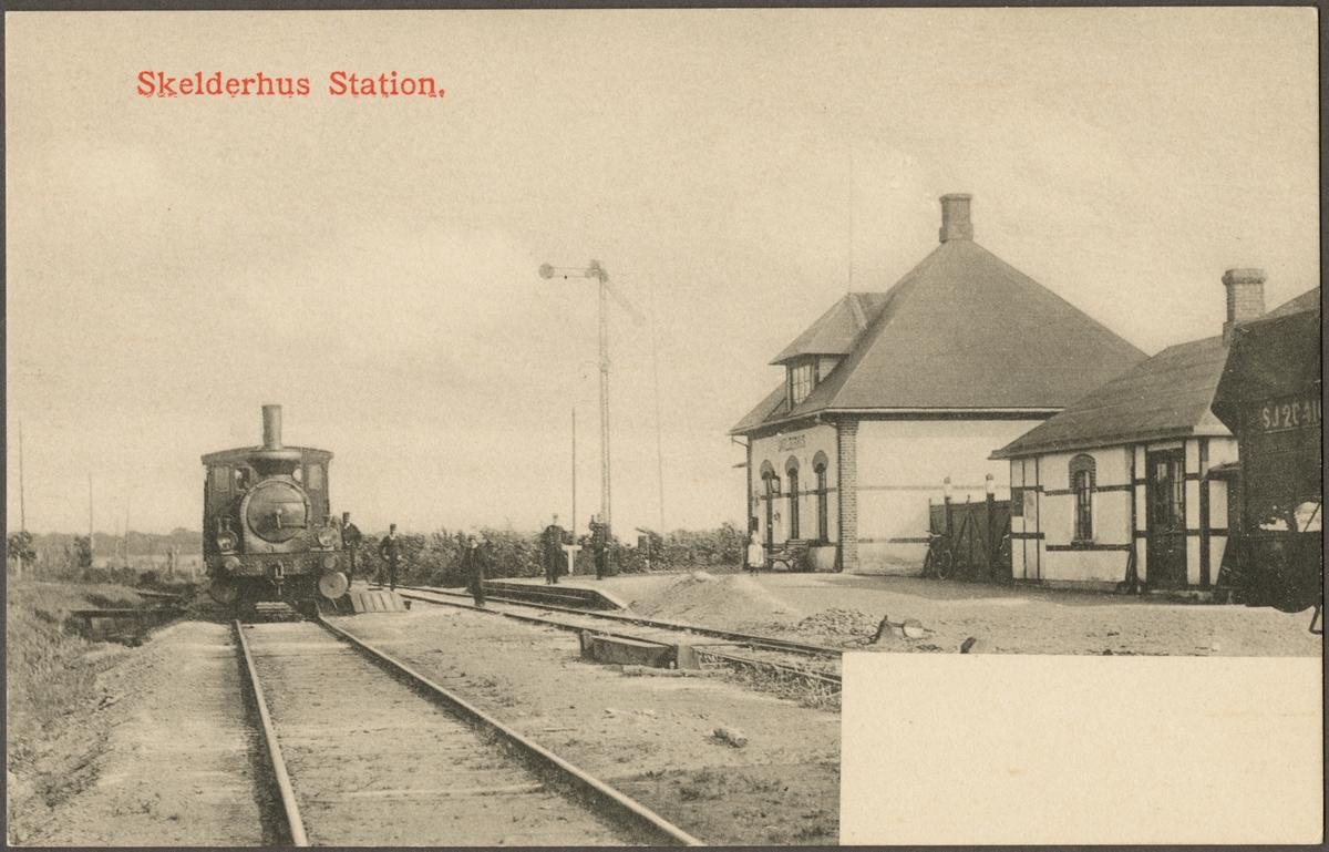 Skälderhus station.