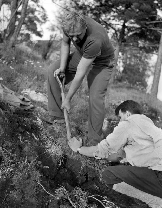 Erling Johansen og Anders Hagen