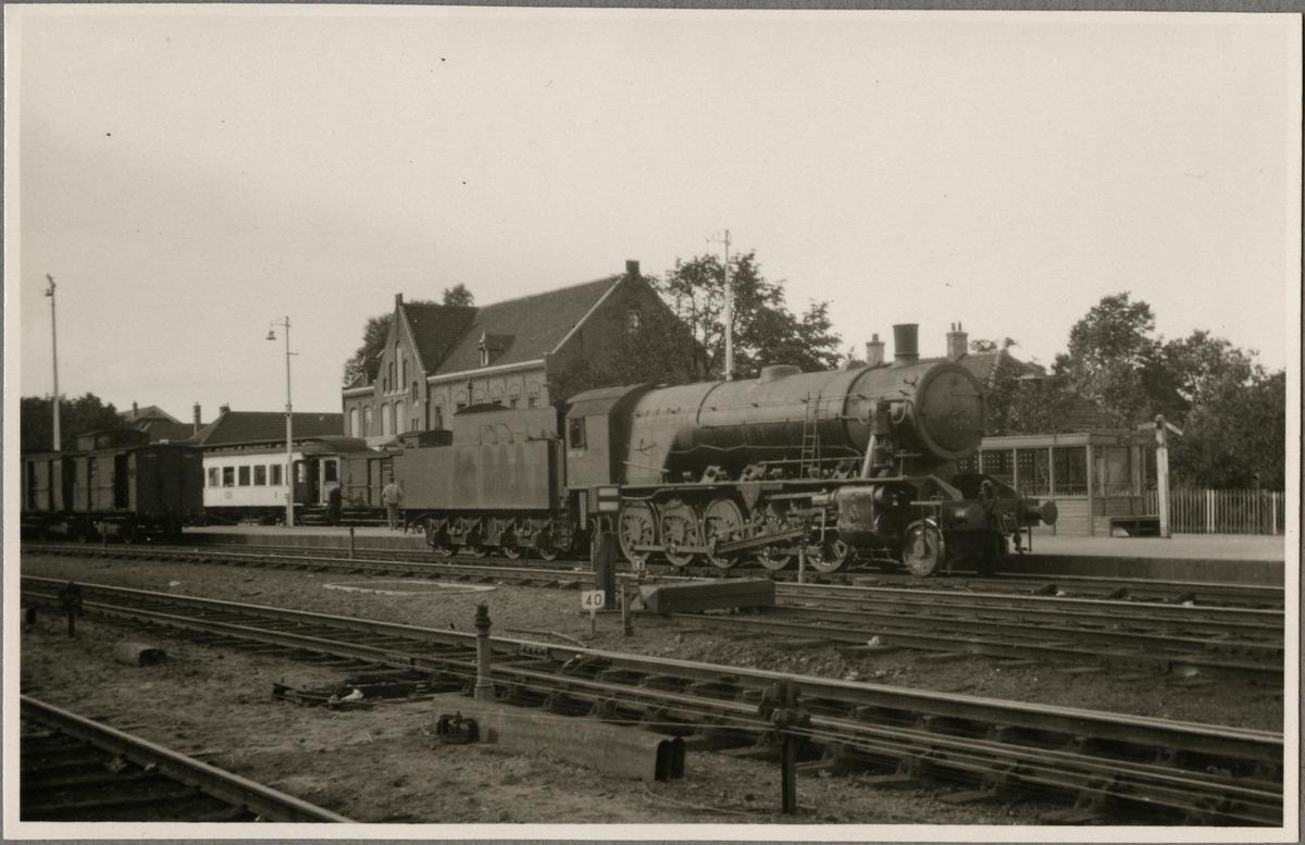 Ånglok från Nederlandse Spoorwegen, NS i 5000 serien.