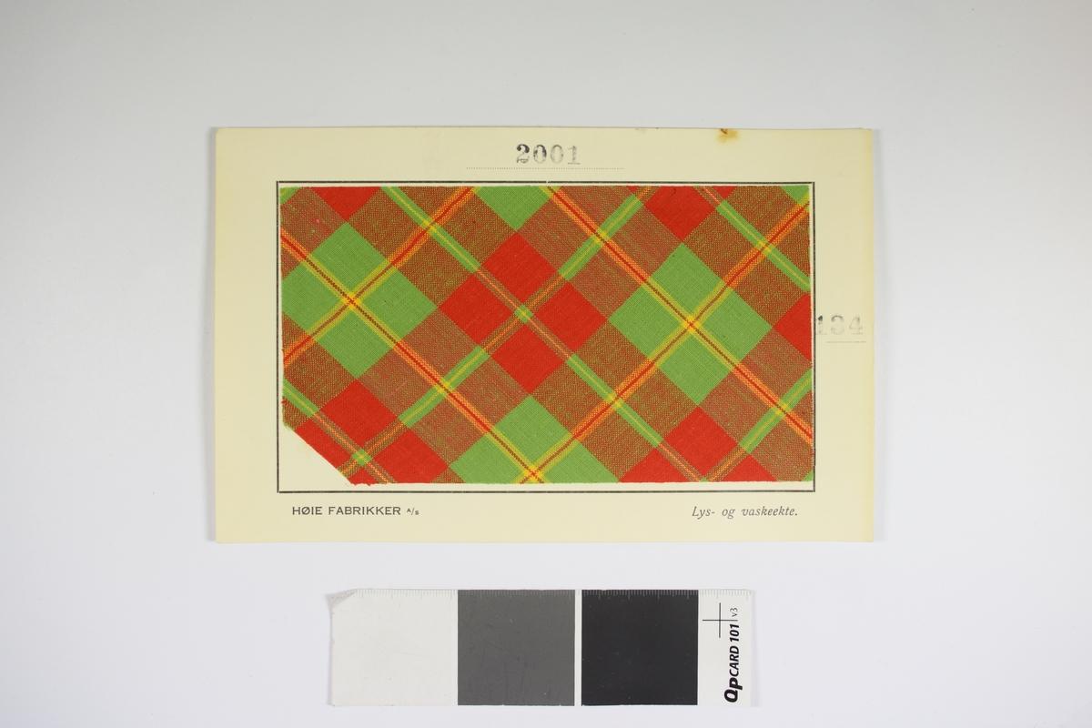 a932b2ae Stoffprøve - Vest-Agder-museet / DigitaltMuseum