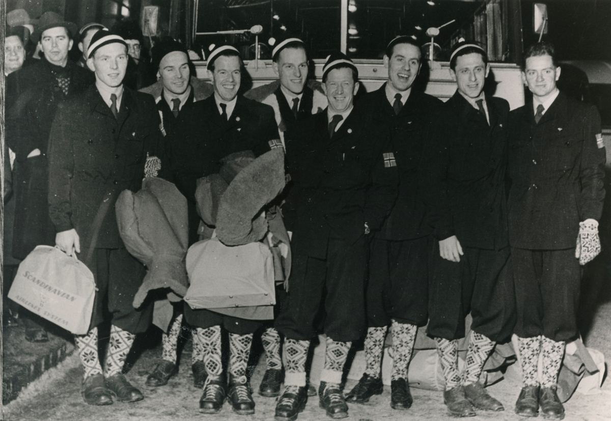 The Norwegian skiing team for WC at Lake Placid