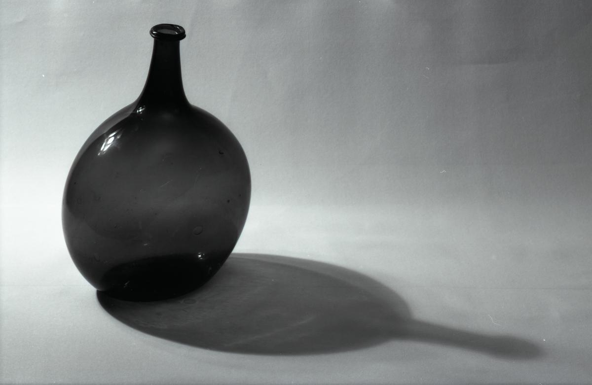 Arboga museum, glasflaska
