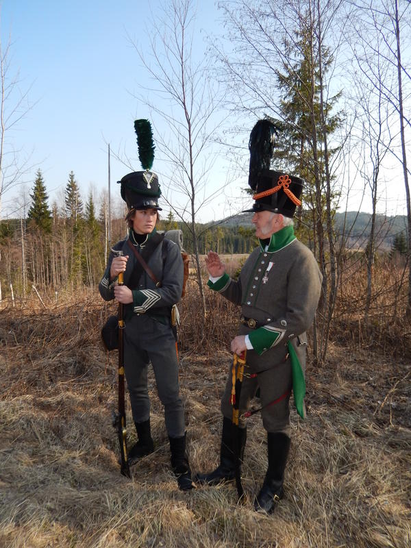 Soldater, 1807