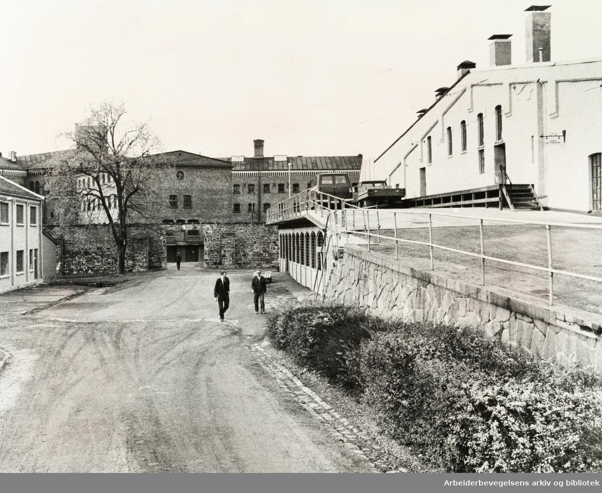 Kretsfengselet, Botsfengselet. Eksteriør. November 1978
