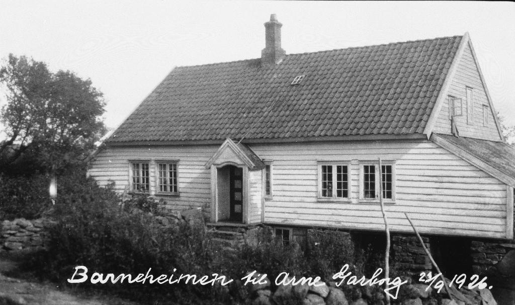 """Barndomsheimen til Arne Garborg """"Garborgheimen"""""""