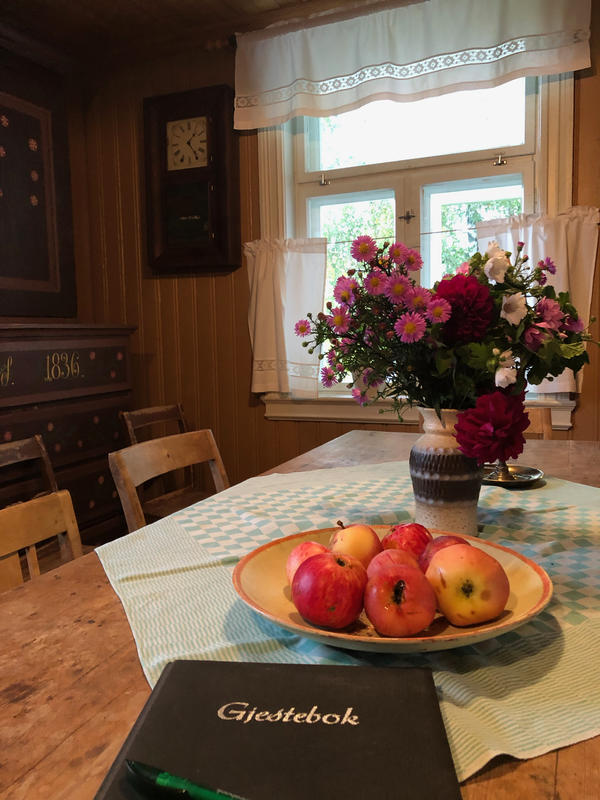 Kjøkkenet, Sagstua skolemuseum, Sigurd Hoels hjem (Foto/Photo)