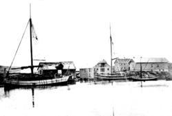 Rørvik, Lauvøyvågen