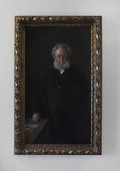 Henrik Ibsen  1891 München [Maleri]