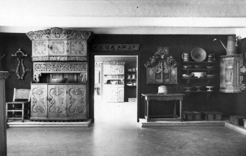Fra Bygdesamlingen, åpnet i 1935.