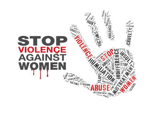 Markering av kampen mot vold mot kvinner