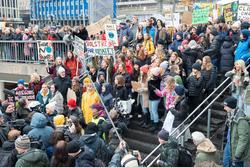 Arktis, klimatstrejk, skolstrejk, Fridays for future, skolun