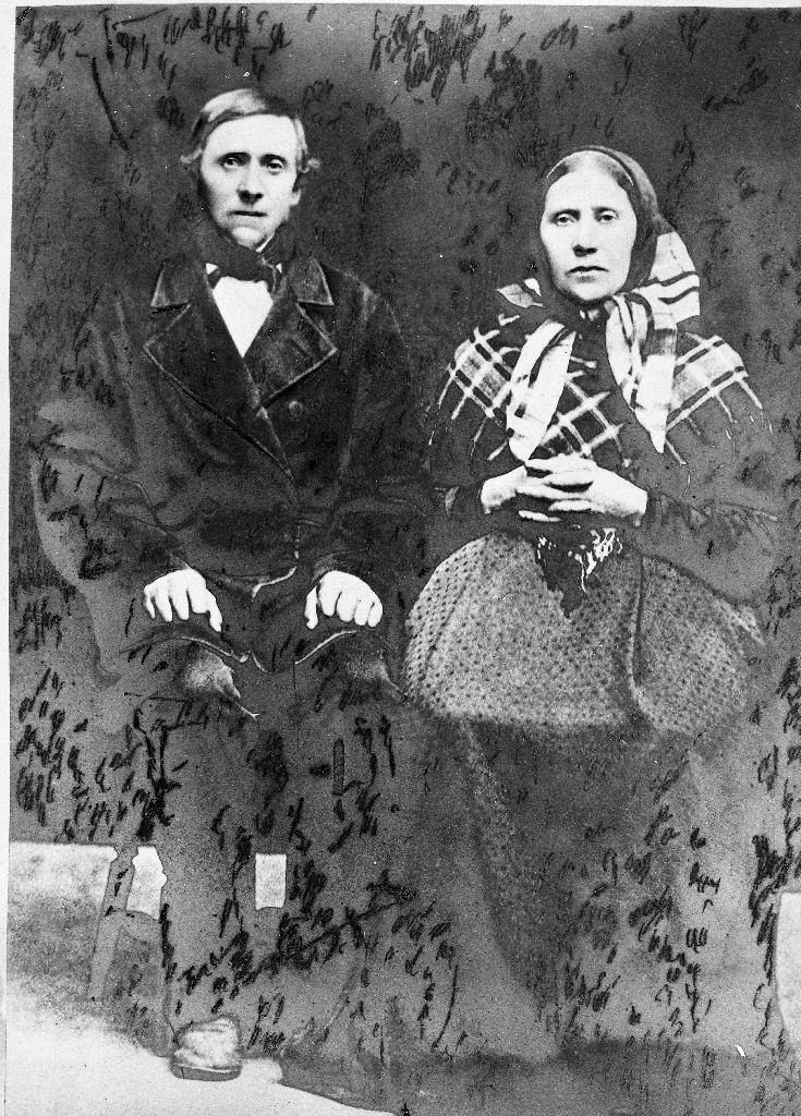 Jonas Svendson Fjermestad (1813 - 1892) g. 1843 m. Ingeborg Olsdtr. Skjelset (1816 - 1904)