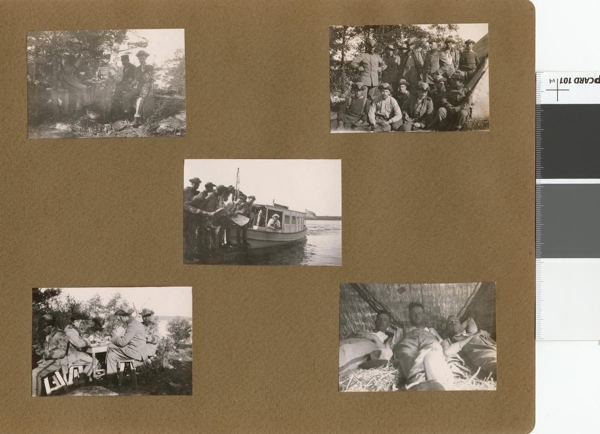 Landstormens mobilisering 1914.