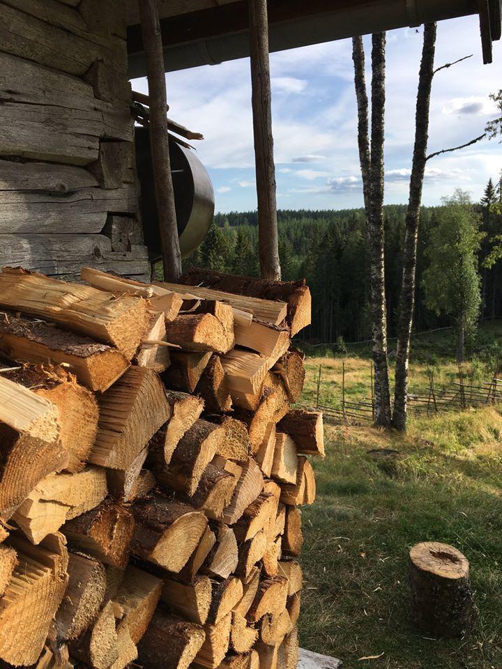 Vedstabel, Skålbergsætra (Foto/Photo)