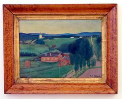 Landskap från Järvsö [Målning]
