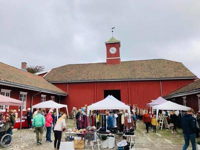 Høstmarked på Rød Herregård