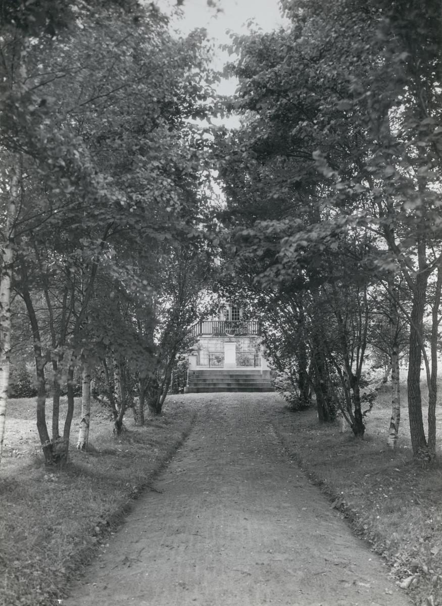 Rungårdens allé mot Segersjön.