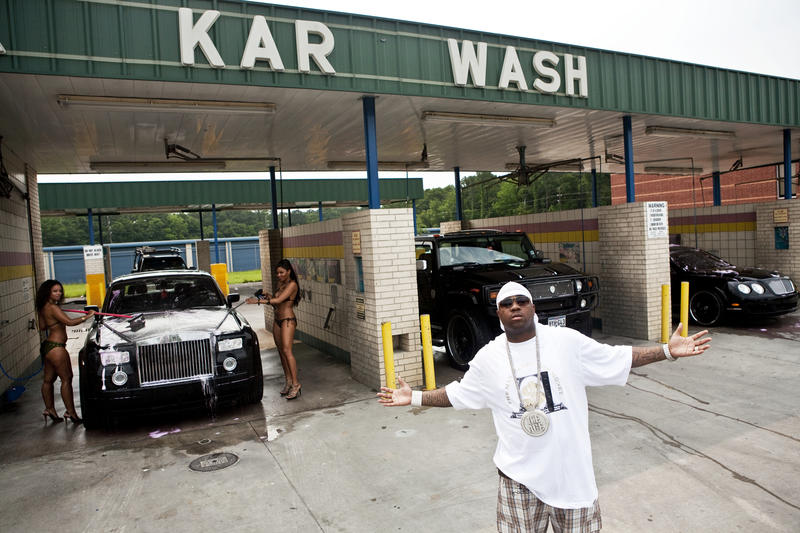 Mike Jones at the Karwash, Houston 2007 (Foto/Photo)