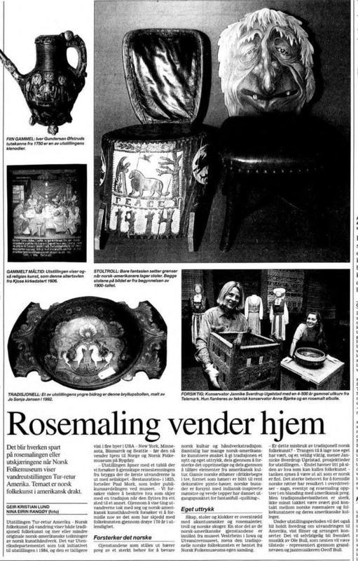 Aftenposten 25. juni 1997 (Foto/Photo)