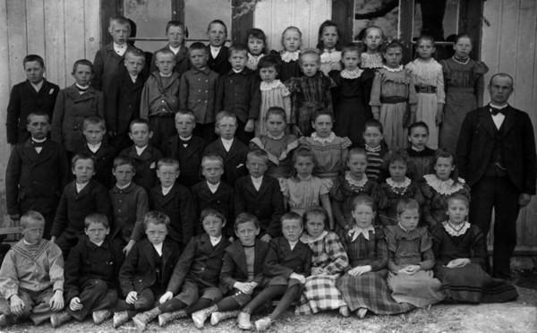 Lystad skole 1899