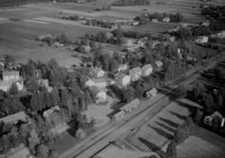 Flygfoto över Dala-Järna.