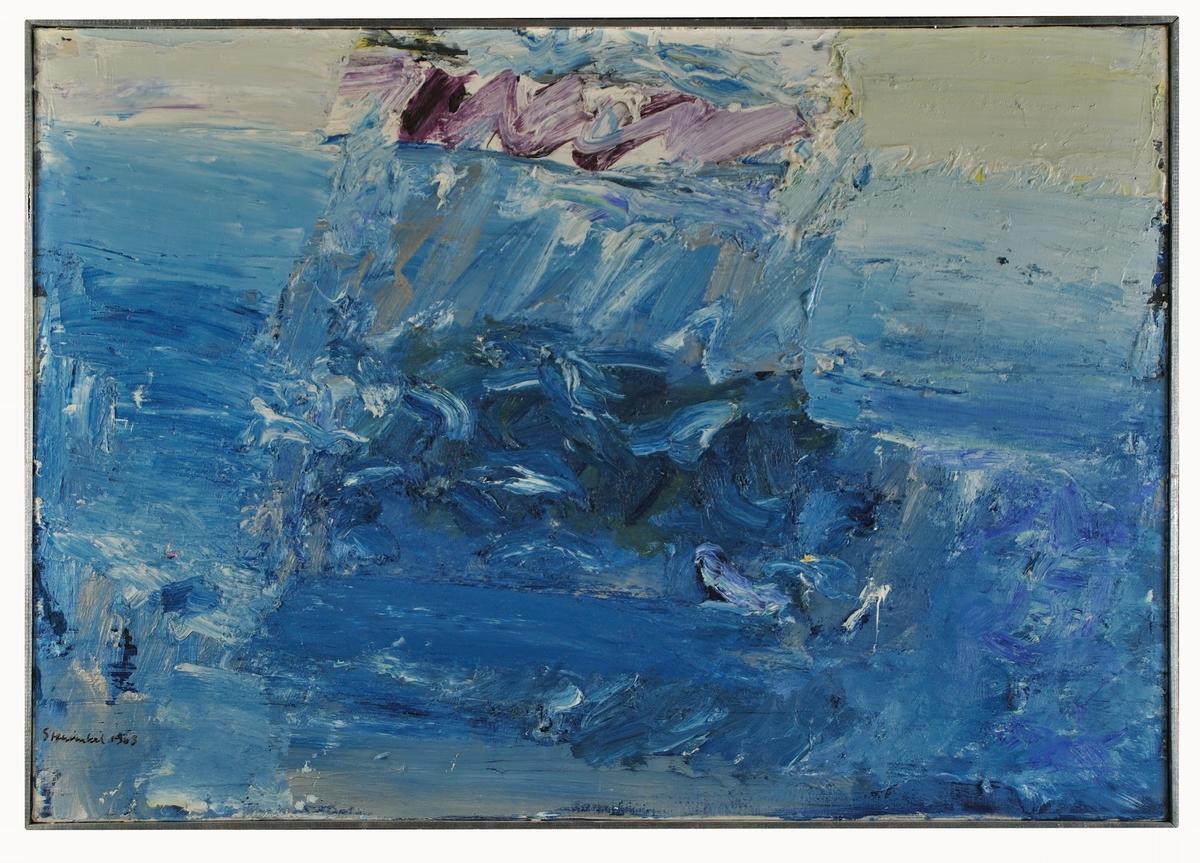 """Temperamålning av Jan Stenvinkel, """"Havslokal""""."""