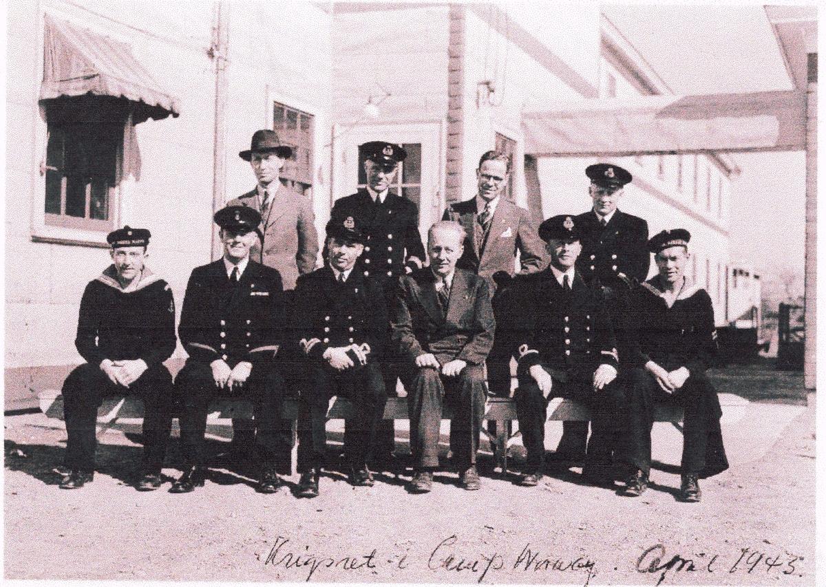 """ Camp Norway"", Lunneburg, Nova Scotia, 1945.  Krigsrett."