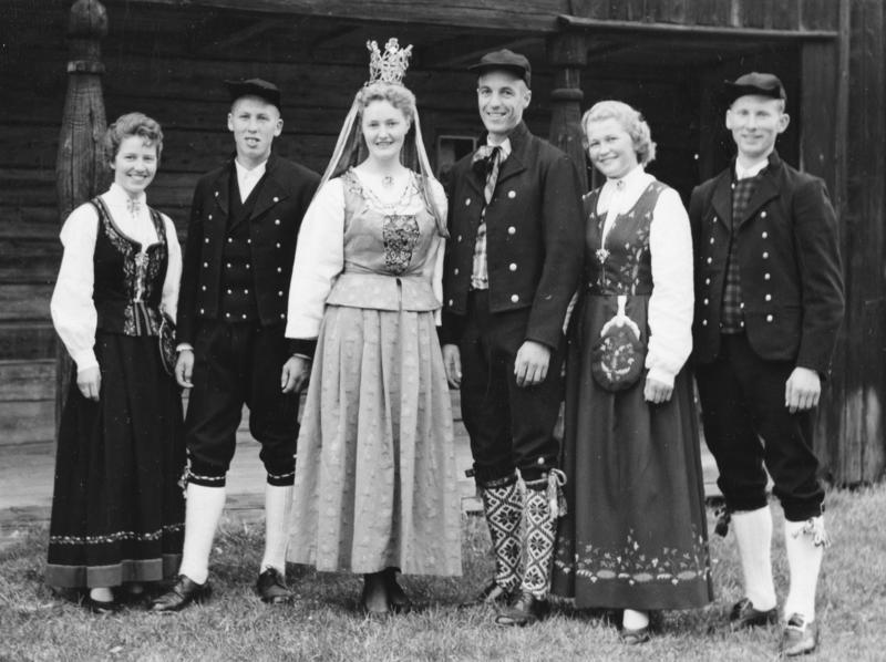 Glomdalsbruden. Utflytterdagen Glomdalsmuseet 1958
