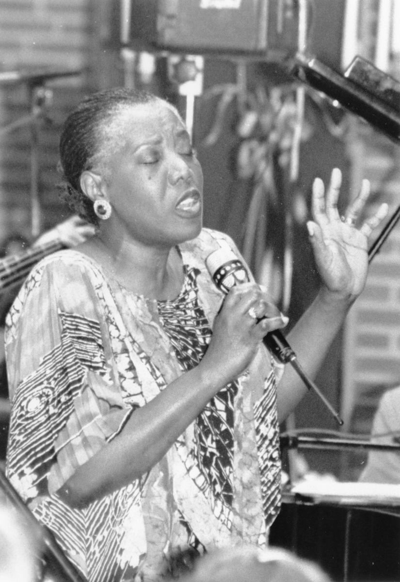 Nordvesten 1993. Etta Cameron, gospelstjerne fra USA