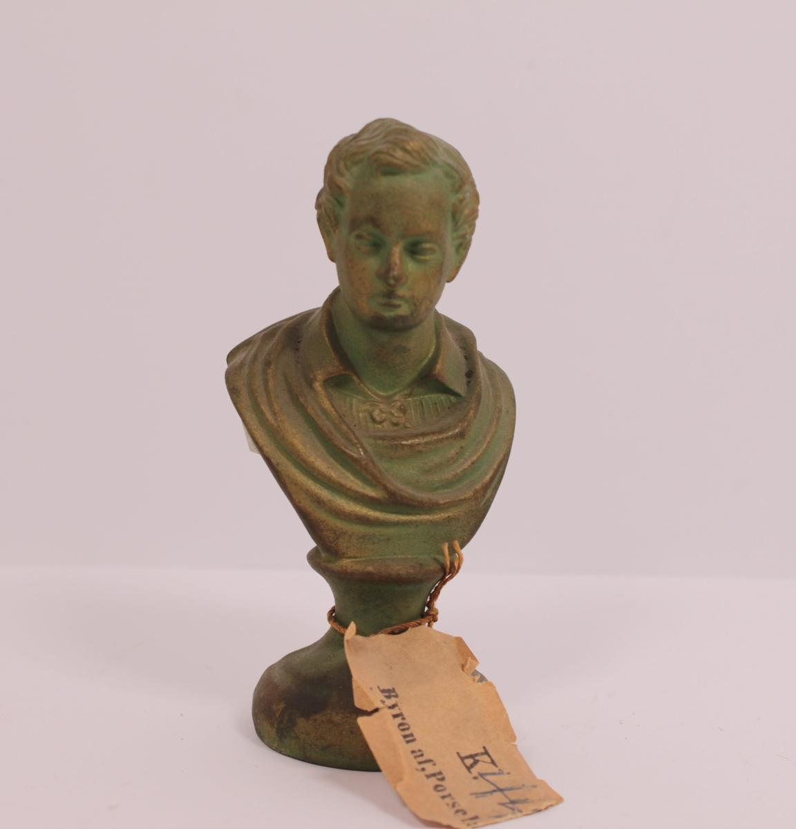 Byste i porselen av Byron