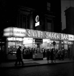 Silver Snack Bar i London.