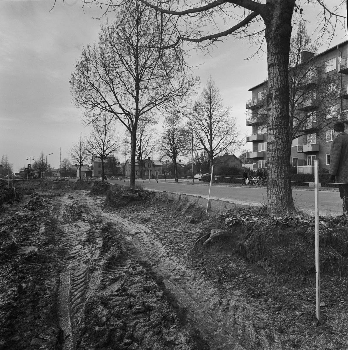 Markplanering, Uppsala 1970