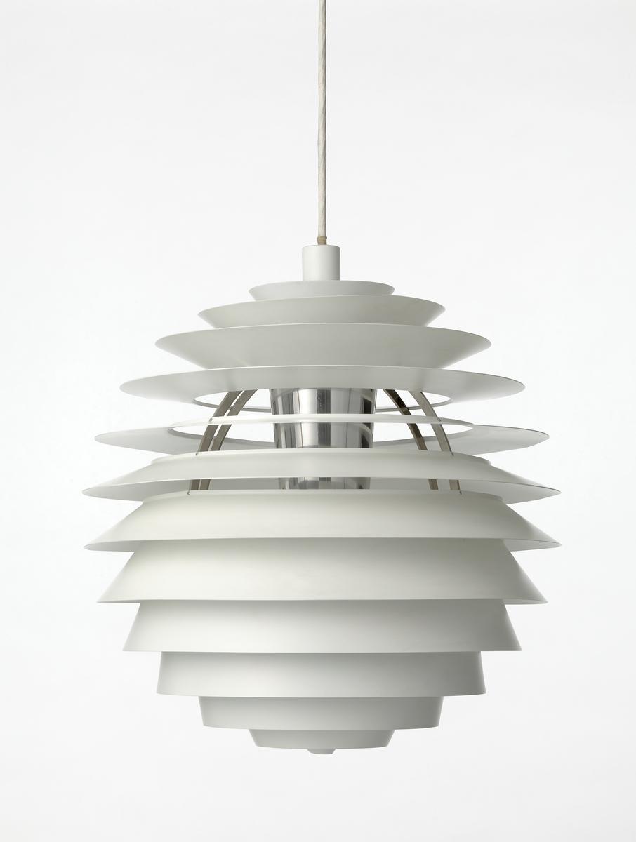 Tidssvarende PH-Kuglen [Taklampe] - Nasjonalmuseet, designsamlingene LA-26