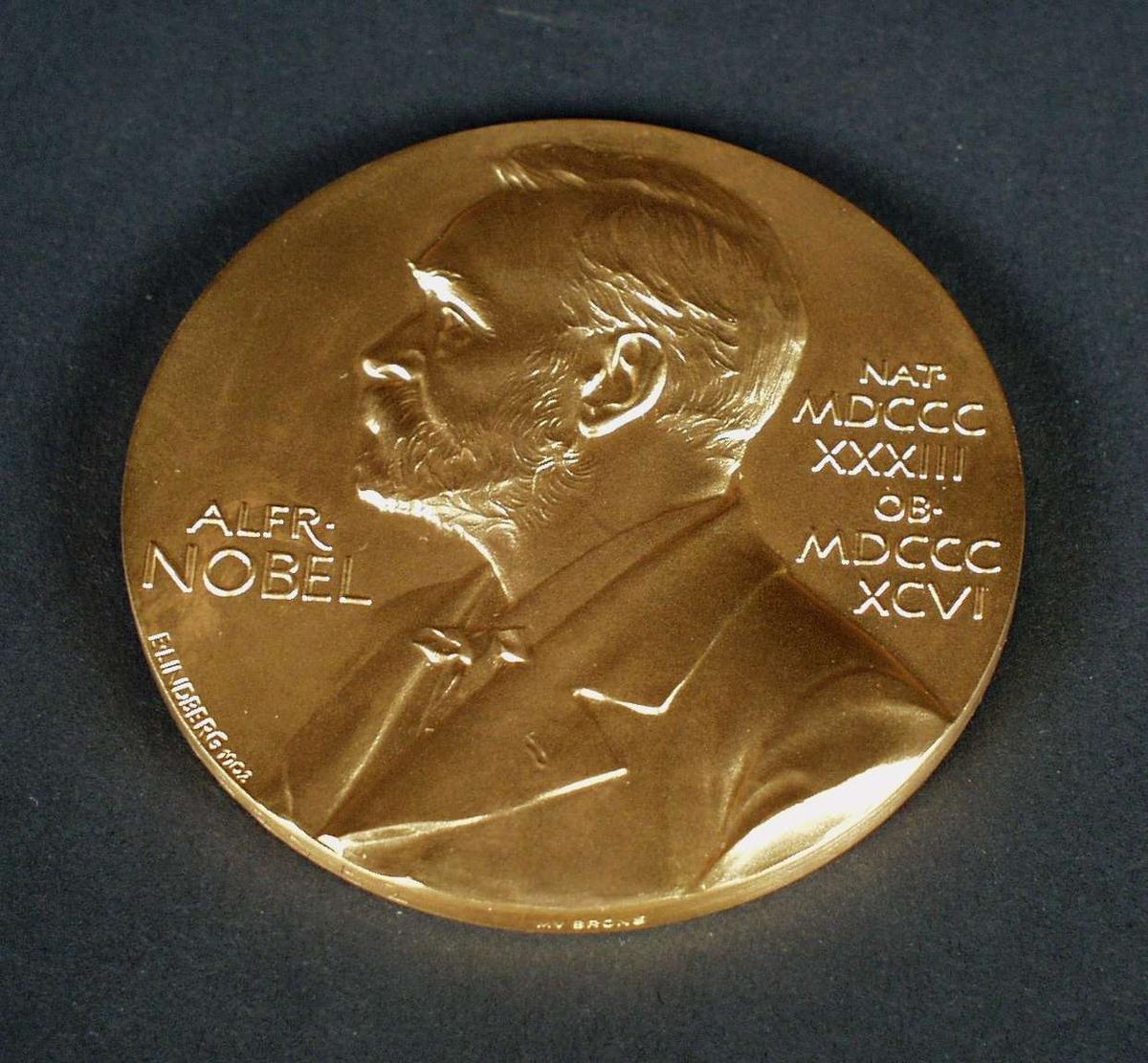 Portrett av Alfred Nobel.