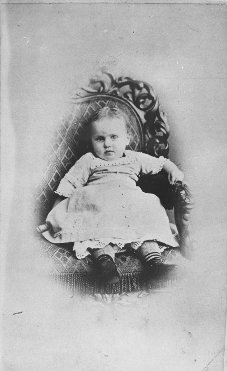 Bergliot, jente, stol, barn, datter